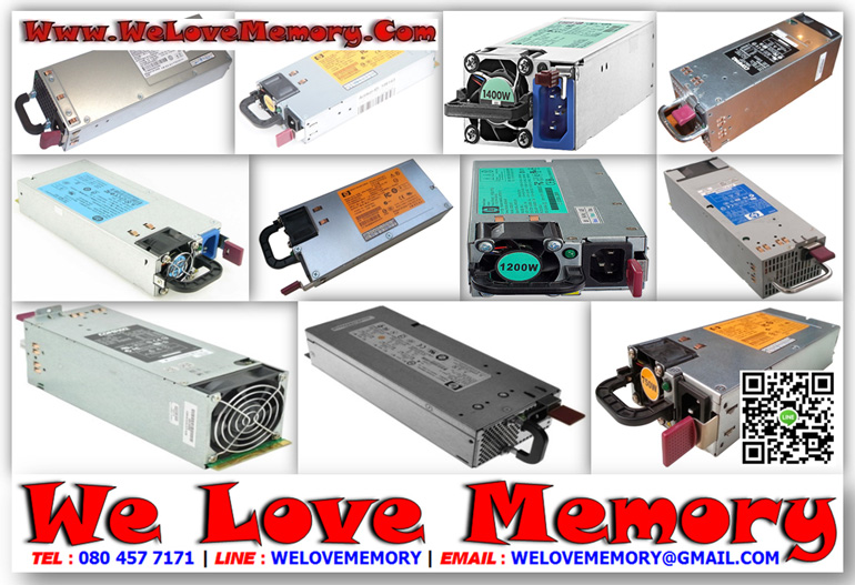 506822-201 HP HSTNS-PL18 POWER SUPPLY 750W - We Love Memory :: Hard