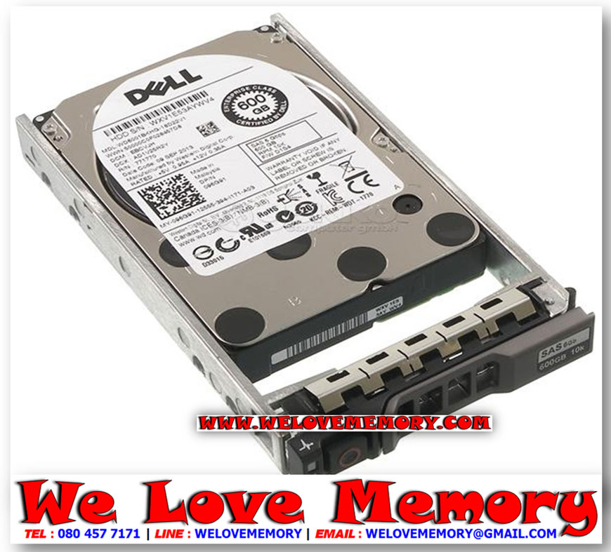 "Dell 600GB 6G 15K 3.5/"" SAS 400-22183 ST3600057SS HDD Hard Drive w// R Tray"